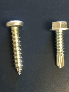 Difference Self-Drilling Self-Tapping Screws