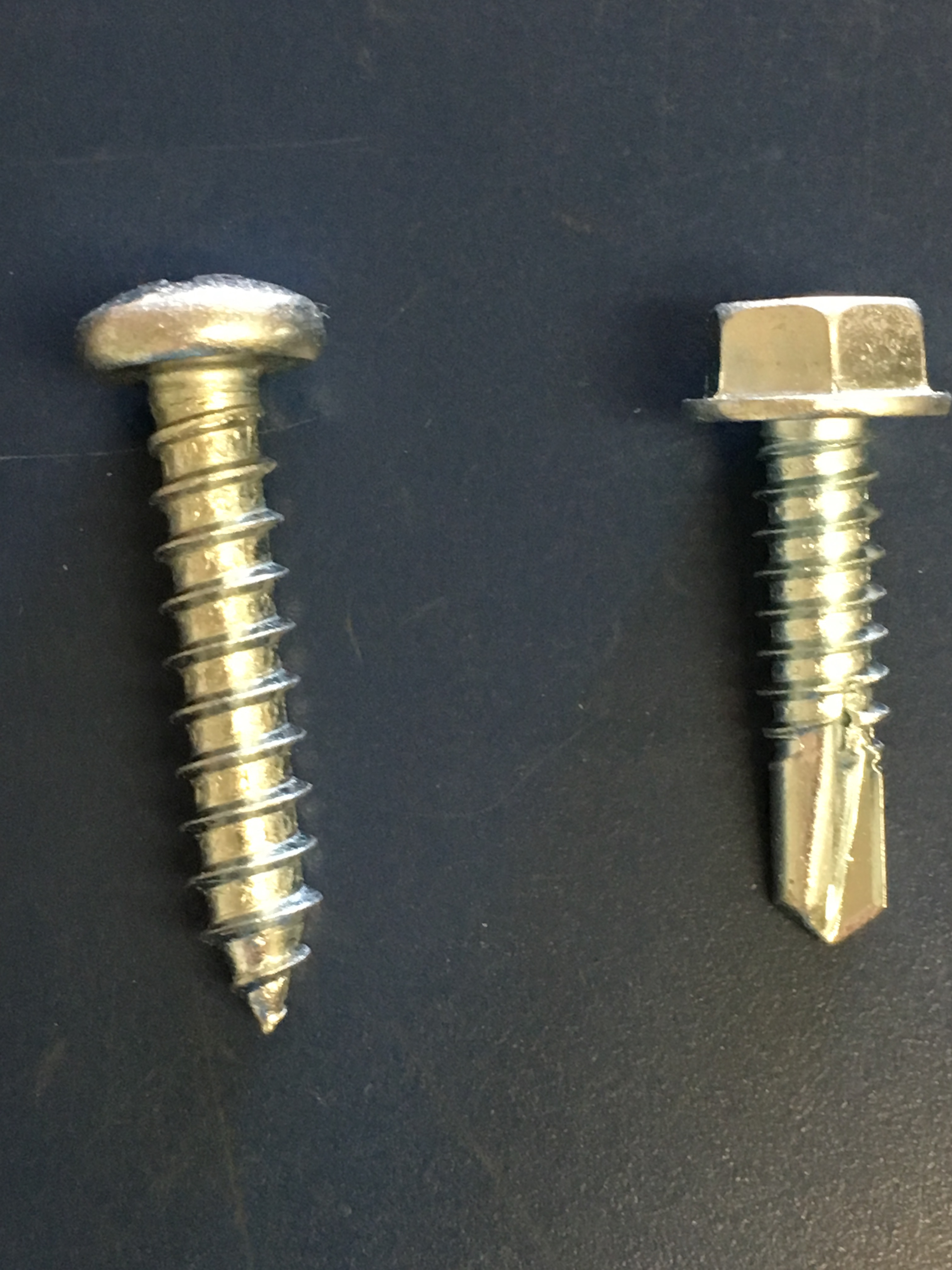 Difference Self Drilling Self Tapping Screws